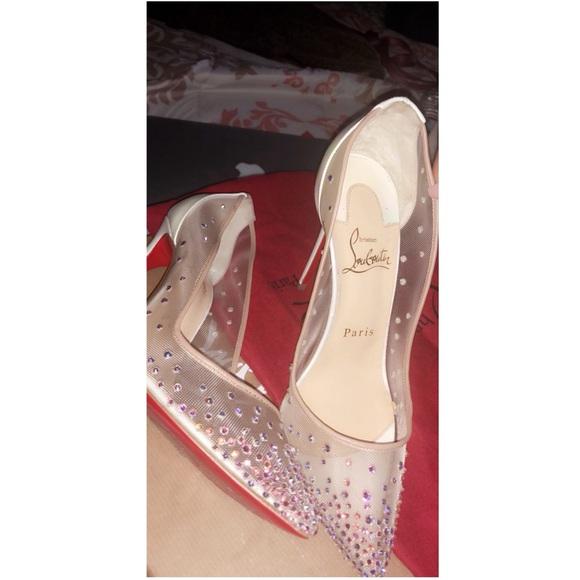 c94bd4226132 Christian Louboutin Shoes - Christian Louboutin Follies Strass